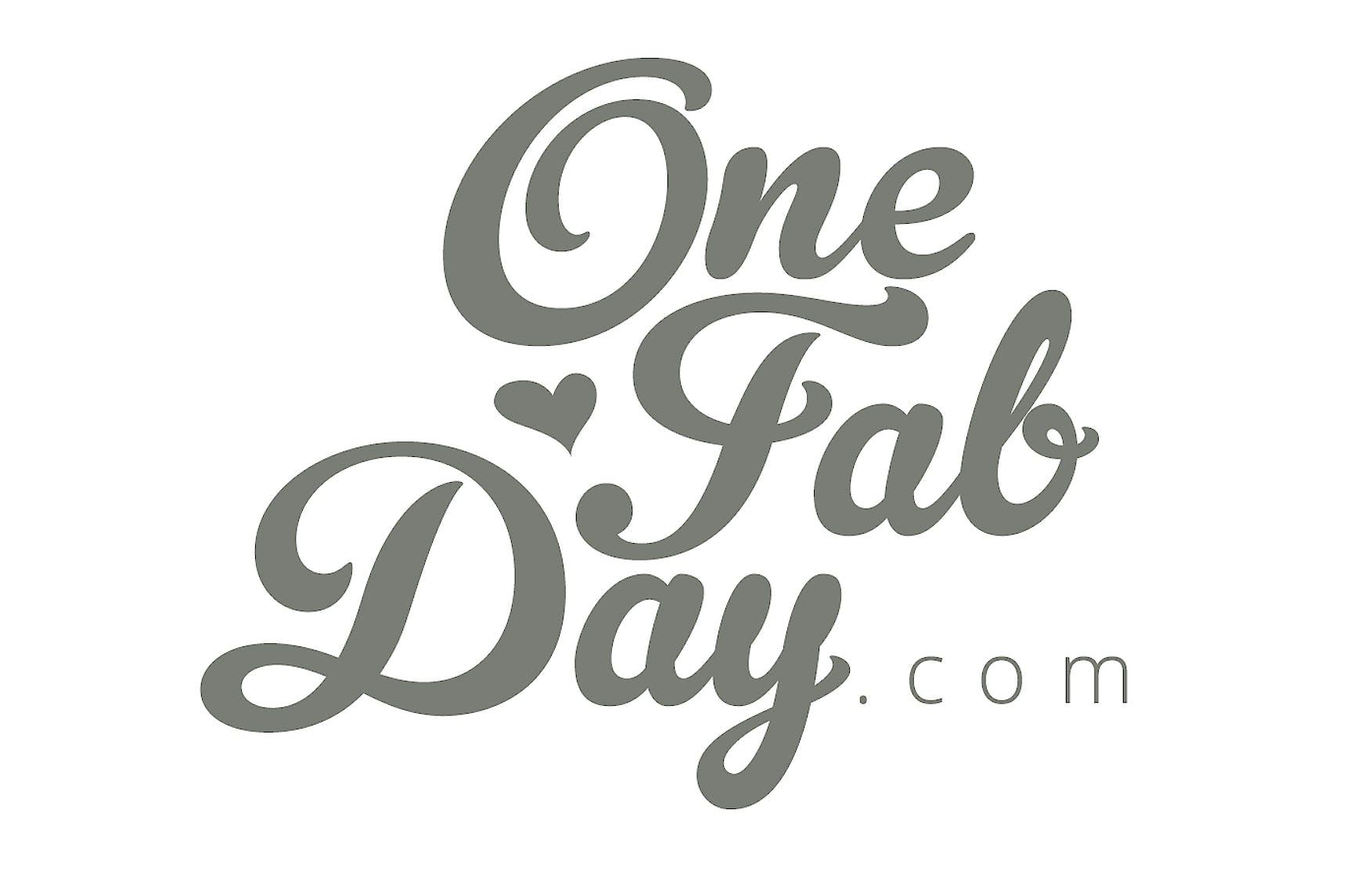 Onefabday Stacked Logo